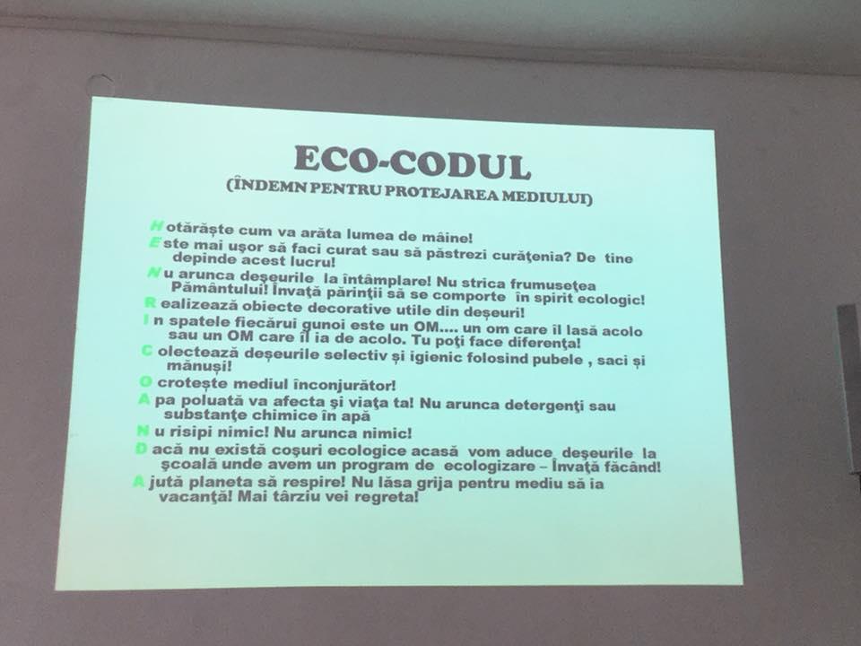 22 decembrie 2017 - Eco-scoala