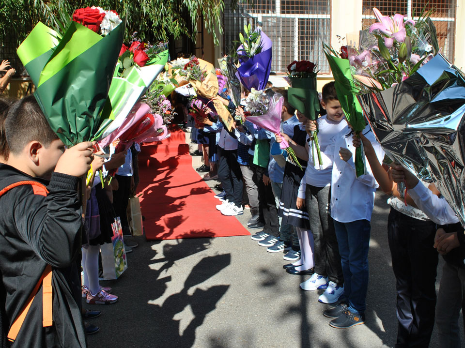 Festivitatea de deschidere a noului an scolar